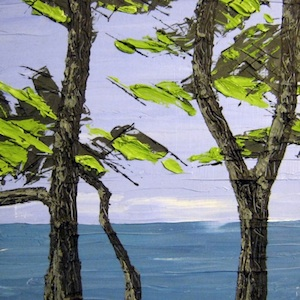Nick Walters_trees by sea