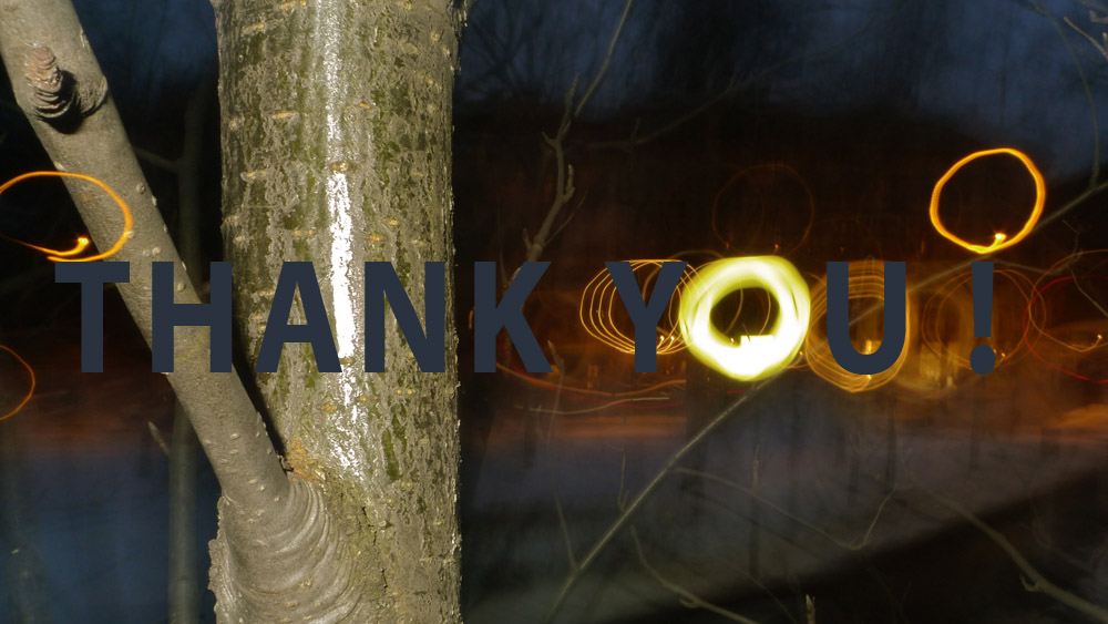 Art of Climbing Trees - thank you 03